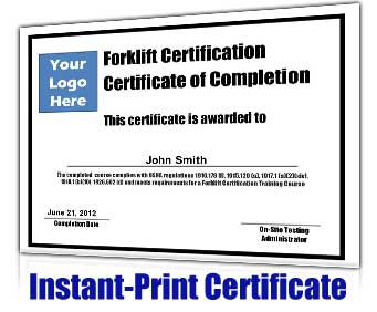 forklift licence template forklift certification kit get your employees forklift